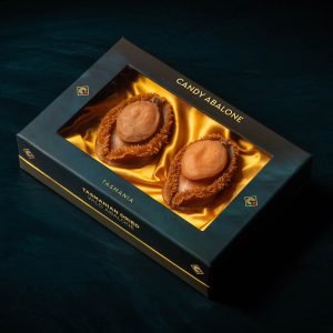2 piece of dried Brownlip abalone luxury gift box