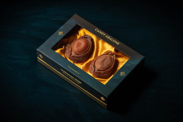 2 pieces of dried Greenlip abalone luxury gift box